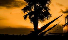 Summer sunset, Quarto, Genoa Stock Photo