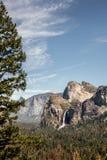 Summer sunset in the Yosemite Valley Stock Photos