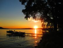 Summer Sunsets Royalty Free Stock Photography