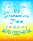 Summer sunshine background Royalty Free Stock Image
