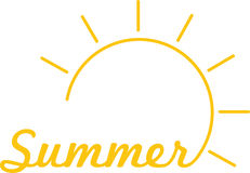 Summer Sunshine Royalty Free Stock Photography