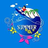 Summer Surf Stock Images