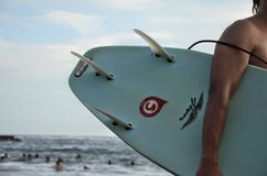 Summer surf dude Royalty Free Stock Photography