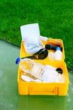 Summer survival kit Stock Photo