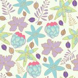 Summer Swatch Floral Repeat Print Pattern  in Vector royalty free illustration