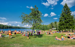 Summer in Sweden Royalty Free Stock Images