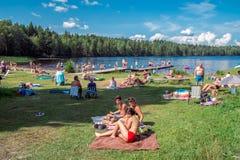 Summer in Sweden Stock Images