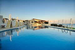Summer swim pool Royalty Free Stock Photos