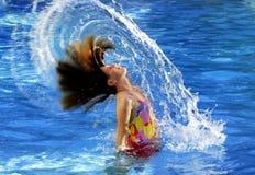 Summer Swimming Fun Stock Photography