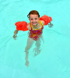 Summer Swimming Fun Royalty Free Stock Photos