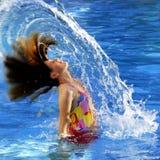 Summer Swimming Fun Stock Image