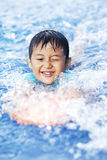 Summer swimming time Royalty Free Stock Photo