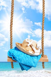 Summer Swing Royalty Free Stock Image