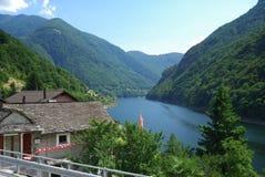 Summer Swiss Alps Stock Photos