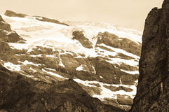 Summer in the Swiss mountains - Bernese Alps Stock Photography