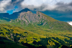 Summer in the Swiss mountains - Bernese Alps Stock Photos