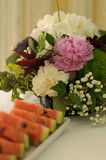 Summer Table Decoration Royalty Free Stock Photos