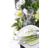 Summer table setting Stock Photos
