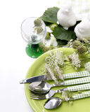 Summer table setting Royalty Free Stock Photos