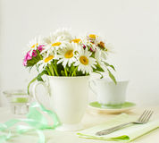 Summer table setting Royalty Free Stock Images