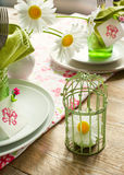 Summer table setting Royalty Free Stock Photography