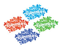 Summer tag. Stock Images