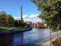 Summer in Tampere Stock Image