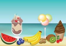 Summer tasty fruits Royalty Free Stock Photo