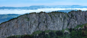 Summer Tatra Mountain panorama, Poland Royalty Free Stock Images