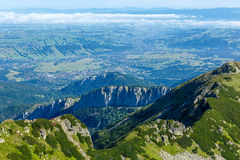 Summer Tatra Mountain, Poland Royalty Free Stock Photo