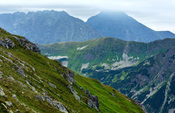 Summer Tatra Mountain, Poland Royalty Free Stock Images