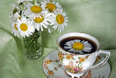 Summer Tea Time Royalty Free Stock Images