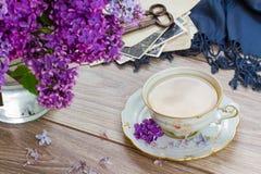 Summer tea time Stock Photos