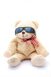 Summer teddy bear Stock Photos