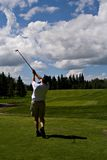Summer Tee Off Royalty Free Stock Photos