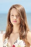 Summer teen girl Stock Photos
