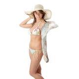 Summer teen girl in bikini Stock Image