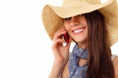 Summer teen girl cheerful Stock Image