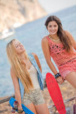 summer teens Stock Image