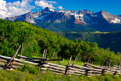 A Summer In Telluride. Telluride, Colorado shows off its beautiful landscape during summer Royalty Free Stock Photos