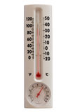 Summer Temperature. With Normal Humidity; isolated, path included Royalty Free Stock Photography