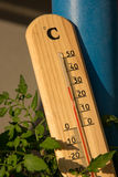 Summer temperature Royalty Free Stock Images