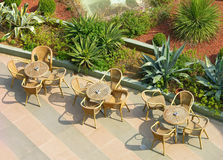 Summer terrace Royalty Free Stock Image