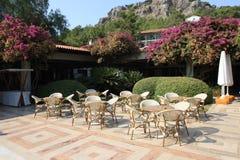 Summer terrace Stock Photo