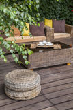 Summer terrace Stock Image