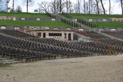 Summer theater - amphitheater royalty free stock image