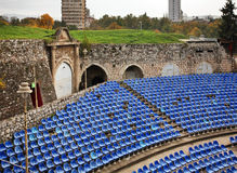 Summer theater in Nis fortress. Serbia Royalty Free Stock Photos