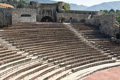 Summer theatre in Herceg Novi - Montenegro Stock Photo