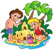Summer theme image 3 Royalty Free Stock Photography