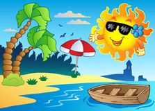 Summer theme image 4 Royalty Free Stock Photo